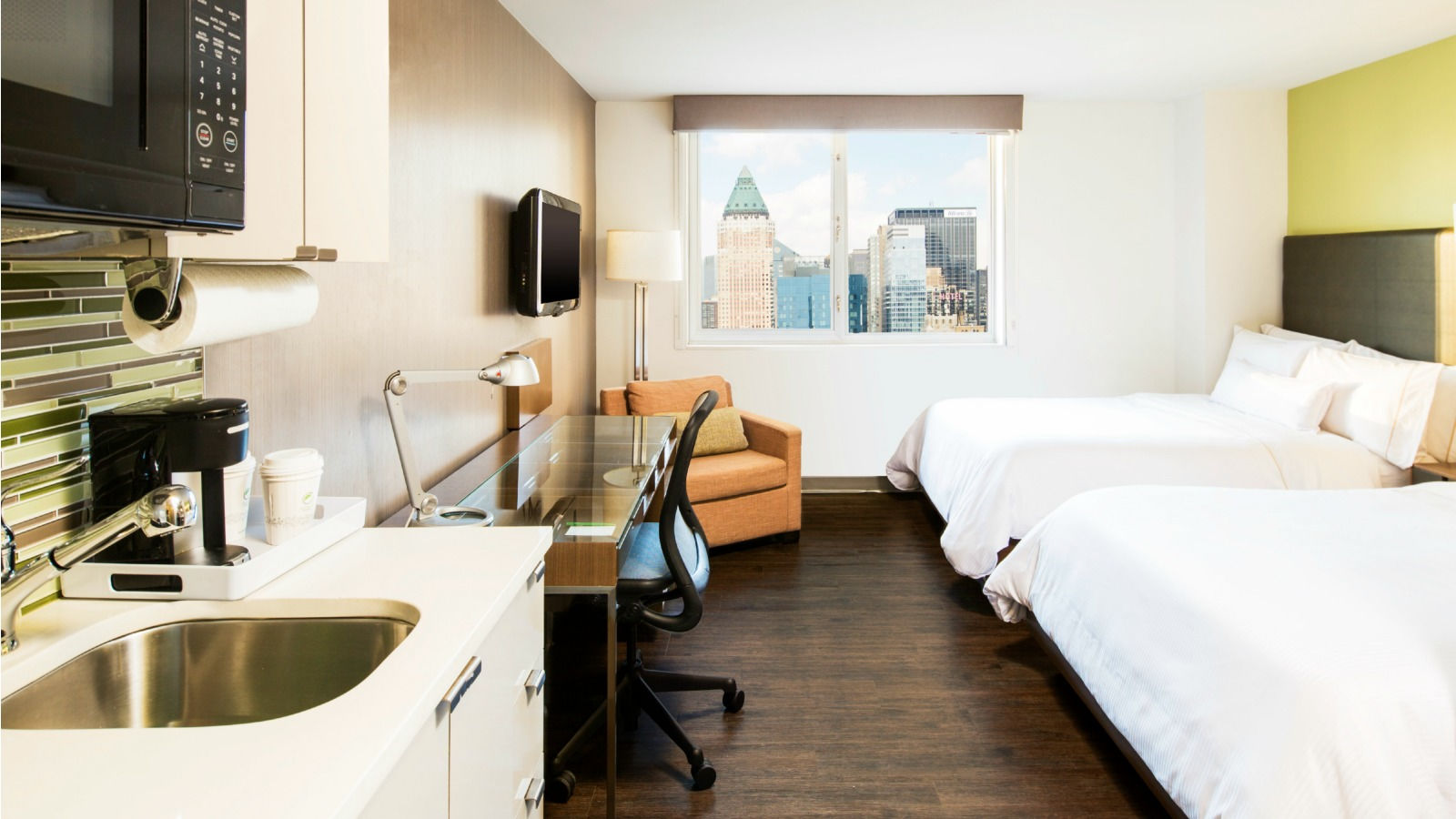 Times Square Hotel Rooms | Element New York Times Square West